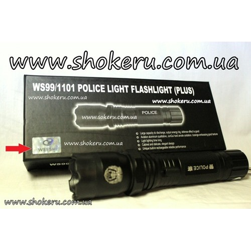 Электрошокер Scorpion WS-99 Pro *POLICE* (2012) Plus с ударопрочным корпусом