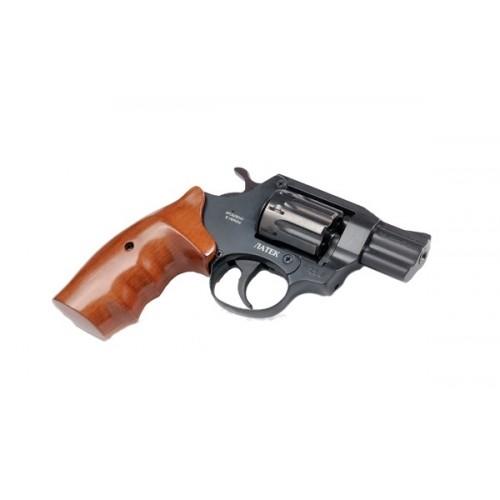 Револьвер под патрон Флобера ЛАТЭК Safari РФ-420 (орех)