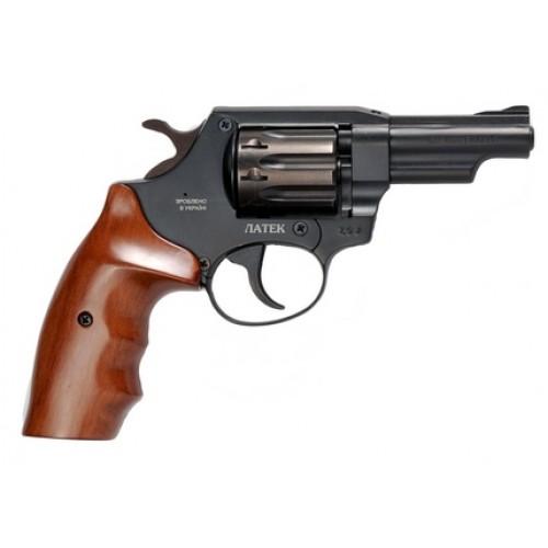 Револьвер под патрон Флобера ЛАТЭК Safari РФ-430 (орех)