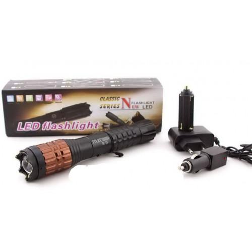 Электрошокер Police дубинка  Х5 - эффективное оружие для самозащиты