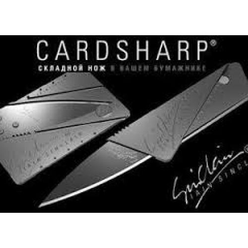 Нож кредитка Card sharp 2