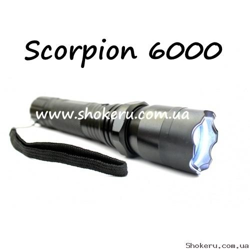 Электрошокер Scorpion 6000  *POLICE* 1000 watt.