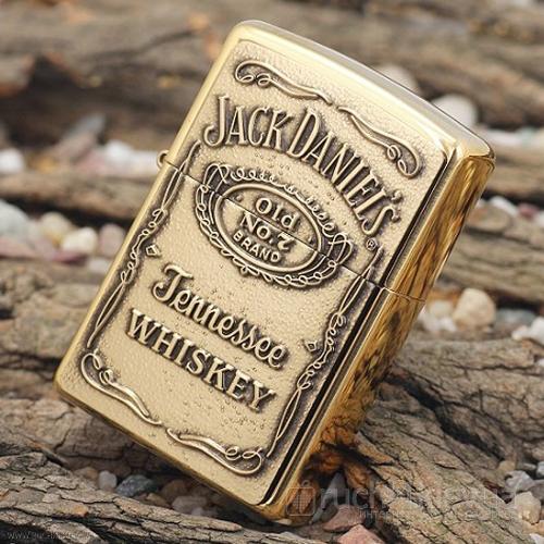 Зажигалка Zippo – Эмблема Jack Daniels (Jack Daniels Label)