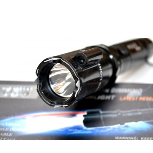 Мощный электрошокер Оса 288 с лазером - новинка 2021 года для самообороны
